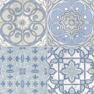 Norwall Fresh Kitchens mavi beyaz çini desenli KE29950 Duvar Kağıdı