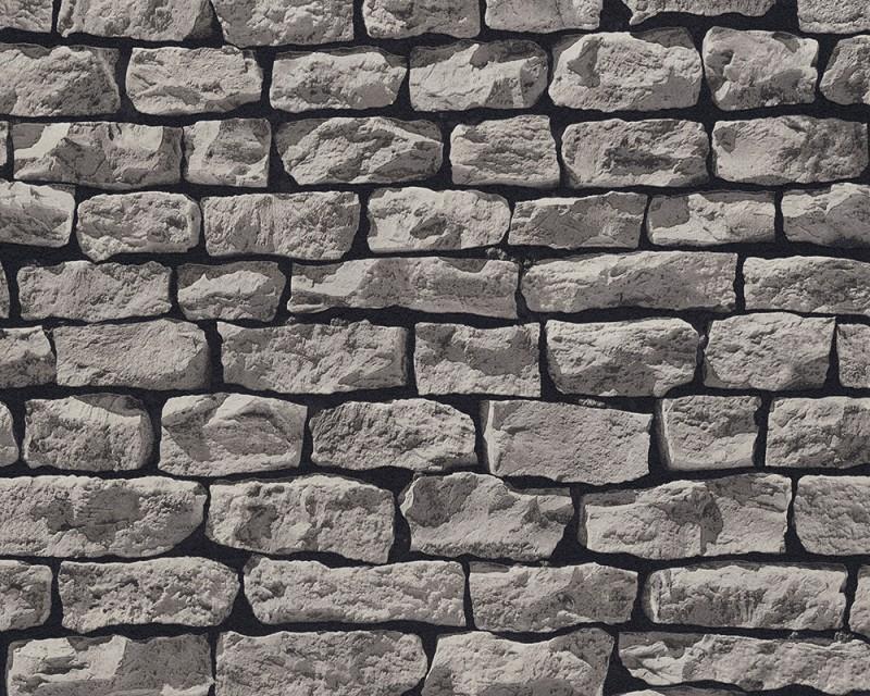 Living walls wood'n stone 9079 29 duvar kağıdı   tek duvar tasarım ...